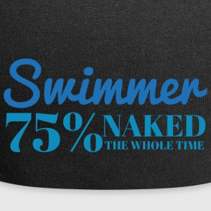 Svømming / float: Swimmer - 75% naken - Jersey-beanie