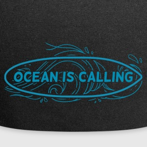 Surfer / Surf: Ocean Is Calling - Beanie in jersey