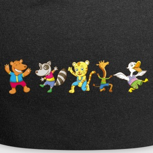 Funny Animal Design ler dyr for barn - Jersey-beanie