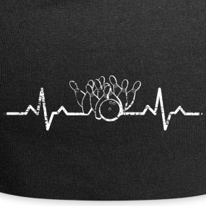 My heart beats for Bowling Sport - Jersey Beanie