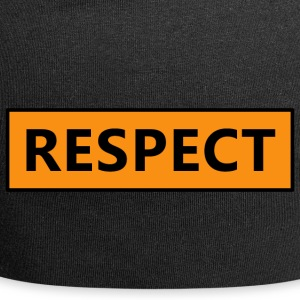 Respect (Rispetto) - Beanie in jersey