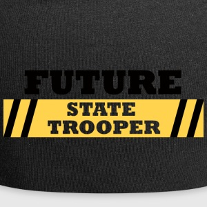 Police: Future State Trooper - Jersey Beanie