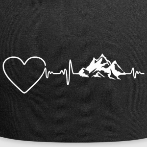 Mountains Heartbeat 2 - Jersey Beanie