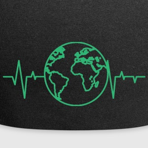 Earth Day / Earth Day: heart rate of the earth - Jersey Beanie