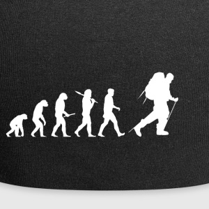 Evolution Hiking! Hike! Mountains! Rockclimbing! - Jersey Beanie
