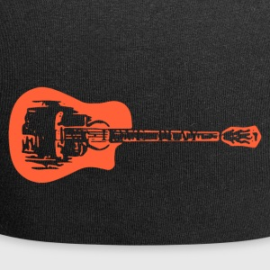 guitar live love play - Jersey Beanie
