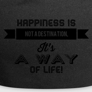 happiness is not a destination - Jersey-Beanie