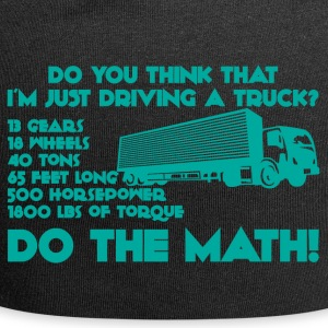 Trucker / LKW-Fahrer: Do you think that i´m just - Jersey-Beanie