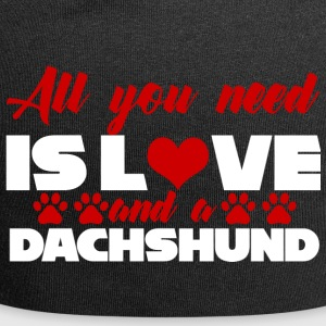 Dachshund / Dachshund: All You Need Is Love And A - Jersey Beanie