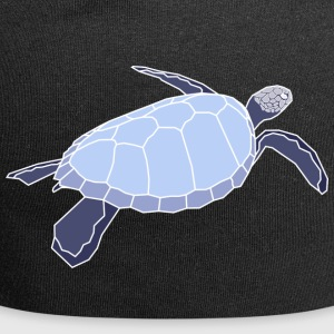 Turtle - Turls negativo - Beanie in jersey