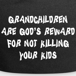 Grandchildren God's Reward - Jersey Beanie