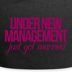 Wedding / Marriage: Under New Management - just got - Jersey Beanie