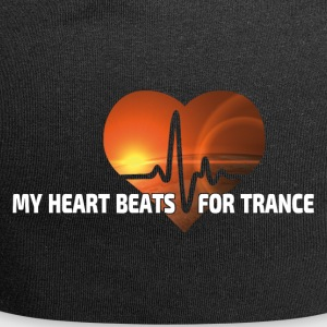 My Heart beats for Trance - Jersey Beanie