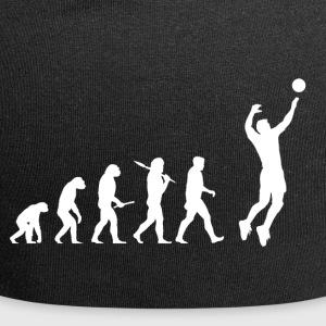 Evolution Volleyball Man - Jersey Beanie