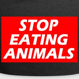 STOP EATING ANIMALS - Jersey Beanie