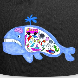 cose Whale - Beanie in jersey