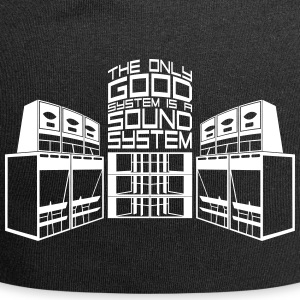 THE ONLY GOOD SYSTEM IS A SOUND SYSTEM - Jersey Beanie