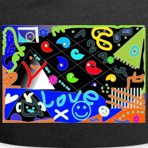 Design Love Pop Art - Bonnet en jersey