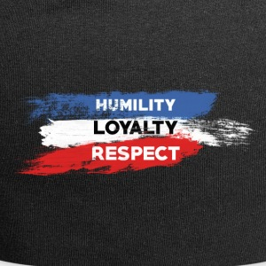 Humility - Loyalty - Respect - Jersey Beanie