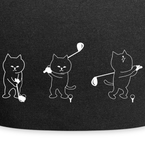 Cat jeu de golf - Bonnet en jersey