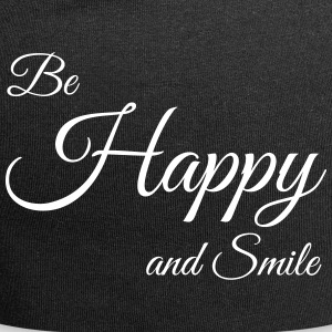 Be Happy - Jersey-Beanie