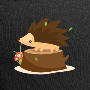 Hedgehog on stump - Jersey Beanie