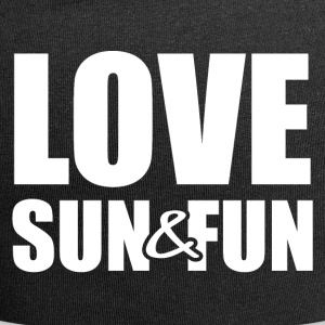 Amour, Sun & Fun - Bonnet en jersey