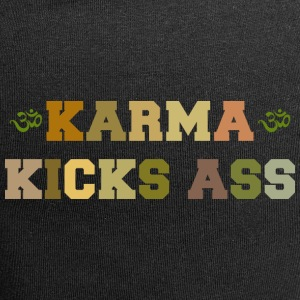 Karma Kicks Ass - Jersey-beanie
