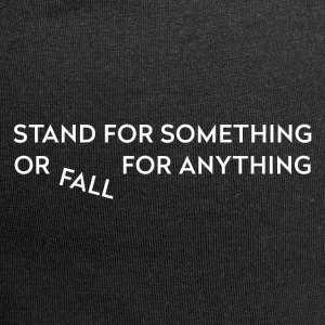 Stand for something - Jersey Beanie