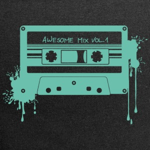 RETRO CASSETTE in turquoise - Jersey-Beanie