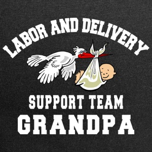 Grandpa Labor Delivery Support Team - Jersey Beanie