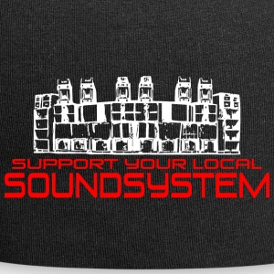support your local soundsystem - Jersey-Beanie