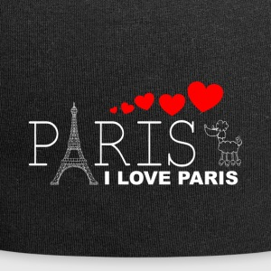 I LOVE PARIS 2WR - Jersey Beanie