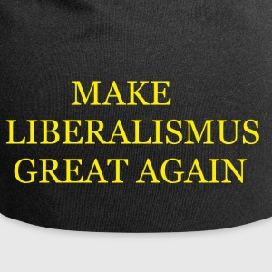 Make liberalism Great Again Yellow - Jersey Beanie