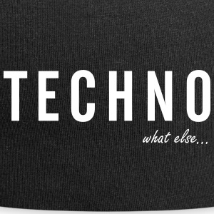 TECHNO ... what else - Jersey Beanie
