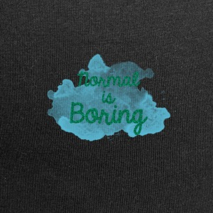 Normal is Boring - Jersey Beanie