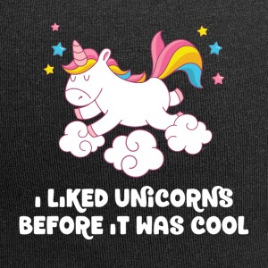I liked unicorns before it was cool - Jersey-Beanie