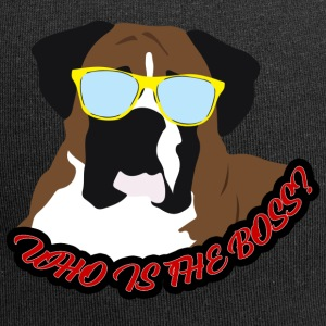 Hund / Boxer: Who is the Boss? - Jersey-Beanie