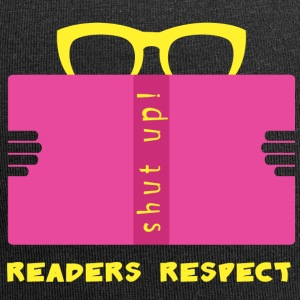 Respect readers - Beanie in jersey