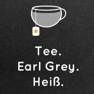 Tea. Earl Grey. Hot. - Jersey Beanie