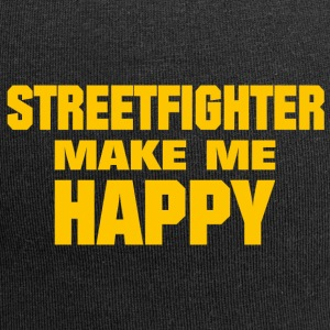 Streetfighter Make Me Happy - Jersey Beanie