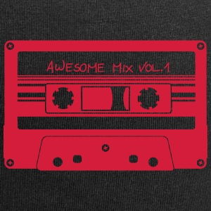 "Cassette ""Awesome Mix"" - Beanie in jersey"
