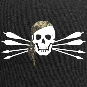 Pirate of archery - Skull and arrows - Jersey Beanie