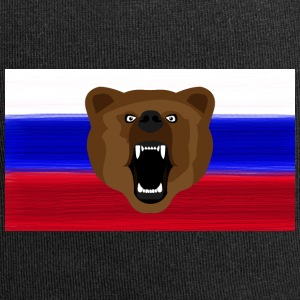 Russian Bear / Russia / Россия, Rossia, flag - Jersey Beanie