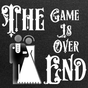Just Married The End Game Is Over - Beanie in jersey