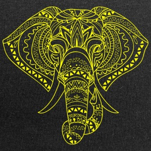 ELEPHANT HEAD yellow - Jersey Beanie