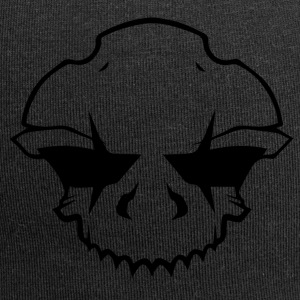 BAD_SKULL_2.0 - Beanie in jersey