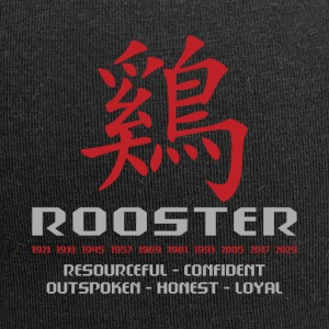 Chinese Year of The Rooster Years Characteristics - Jersey Beanie