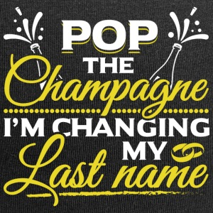 JGA - POP THE CHAMPAGNE IM CHANGING MY NAME - Jersey-Beanie