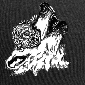 Blomster Wolf - Jersey-beanie